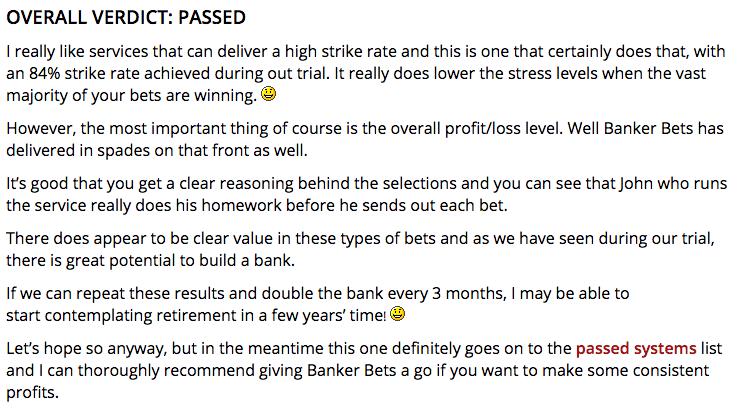 Banker Bets 2 0 Reviews – Banker-Bets